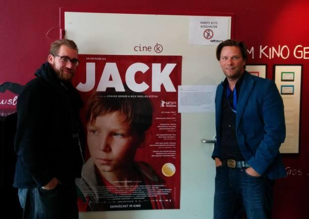 """Interview mit Jan Krüger und Marcus Machura zu """"Jack"""""""